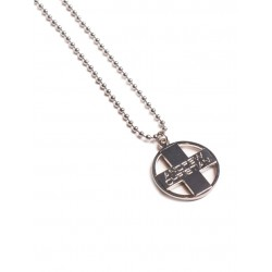 Cross Pendant Designer Necklace Silver