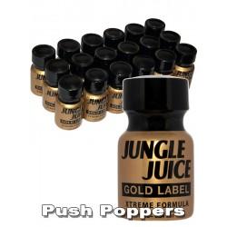 Small JUNGLE JUICE gold label NOVINKA