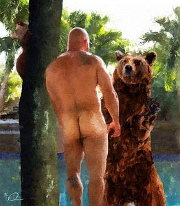 GAY SEX: GARAGE BEARS 16.2.2019